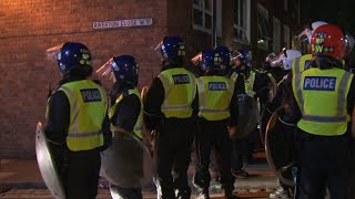 video: Police respond to reports of illegal street party in west London