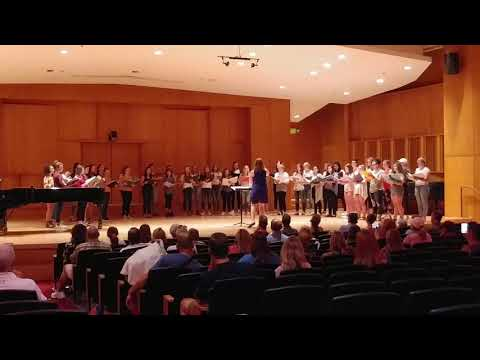 Topaz Post Retreat Performance at Grusin Hall, CU Boulder