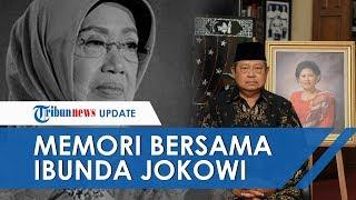 Presiden Jokowi Mohon Doa Masyarakat untuk Almarhumah Ibunda, Surakarta, 25 Maret 2020.
