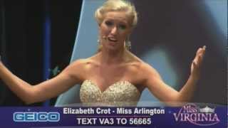 "Miss Virginia 2011 - Elizabeth Crot Performing ""Sempre Libera"" from Verdi's La Traviata"