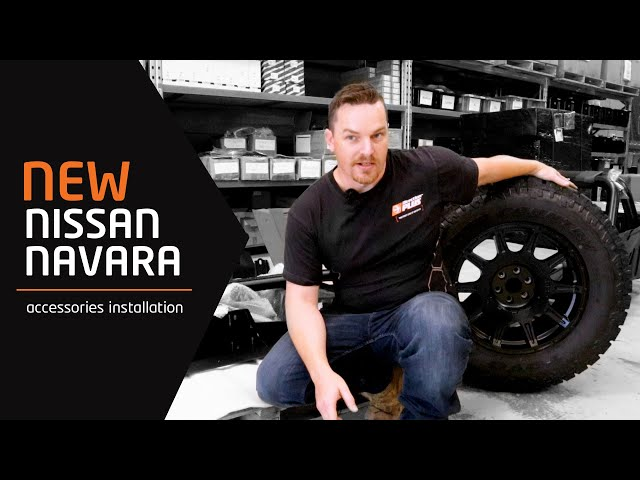 Nissan Navara 2020 - Accessories Installation