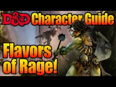 D&D Barbarian 5e Guide: Wizard Rage!