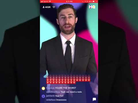 HQ Trivia December 10th 2017 $10,000 Full Game