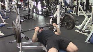 Jason Blaha Rebuilding Bench Press Strength Day 5 - 7x3 Paused