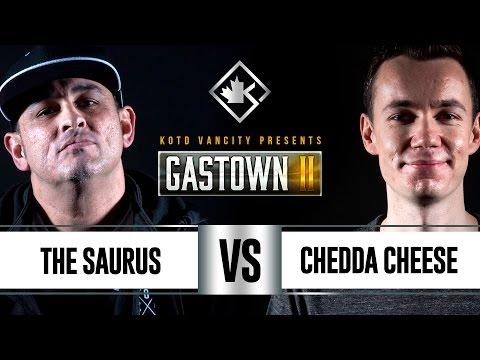 KOTD - Rap Battle - The Saurus vs Chedda Cheese   #GSTN2