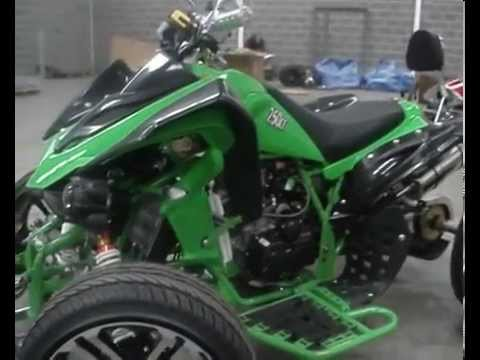 Road Legal Quad Bike from Racing Raptor Quads - YouTube