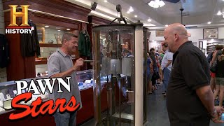 Pawn Stars: Rick Hesitates on Century Old Blueprint Copy Machine (Season 13)   History