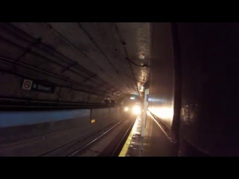 NYC Path Train Electric Explosion