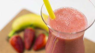 Как приготовить фруктовый коктейль из банана и клубники, который поможет контролировать тревожность(