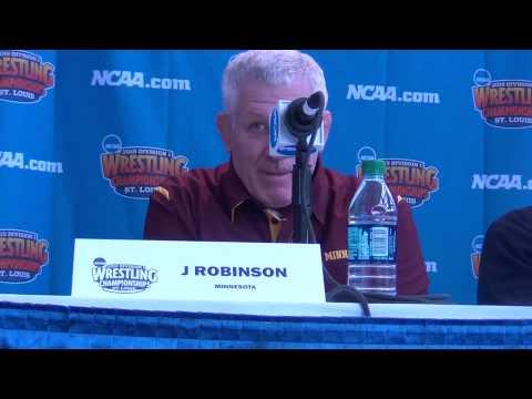 Brands, Robinson, Smith, Koll, Ryan NCAA Coach Press Conference