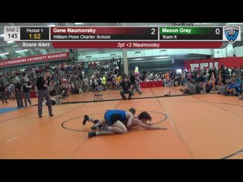 2006 Junior Men 145 Gene Naumovsky William Penn Charter School vs Mason Gray Team X 4138009104