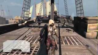 Assassin's Creed 3 — Обучение. Боевая система. На русском (HD)