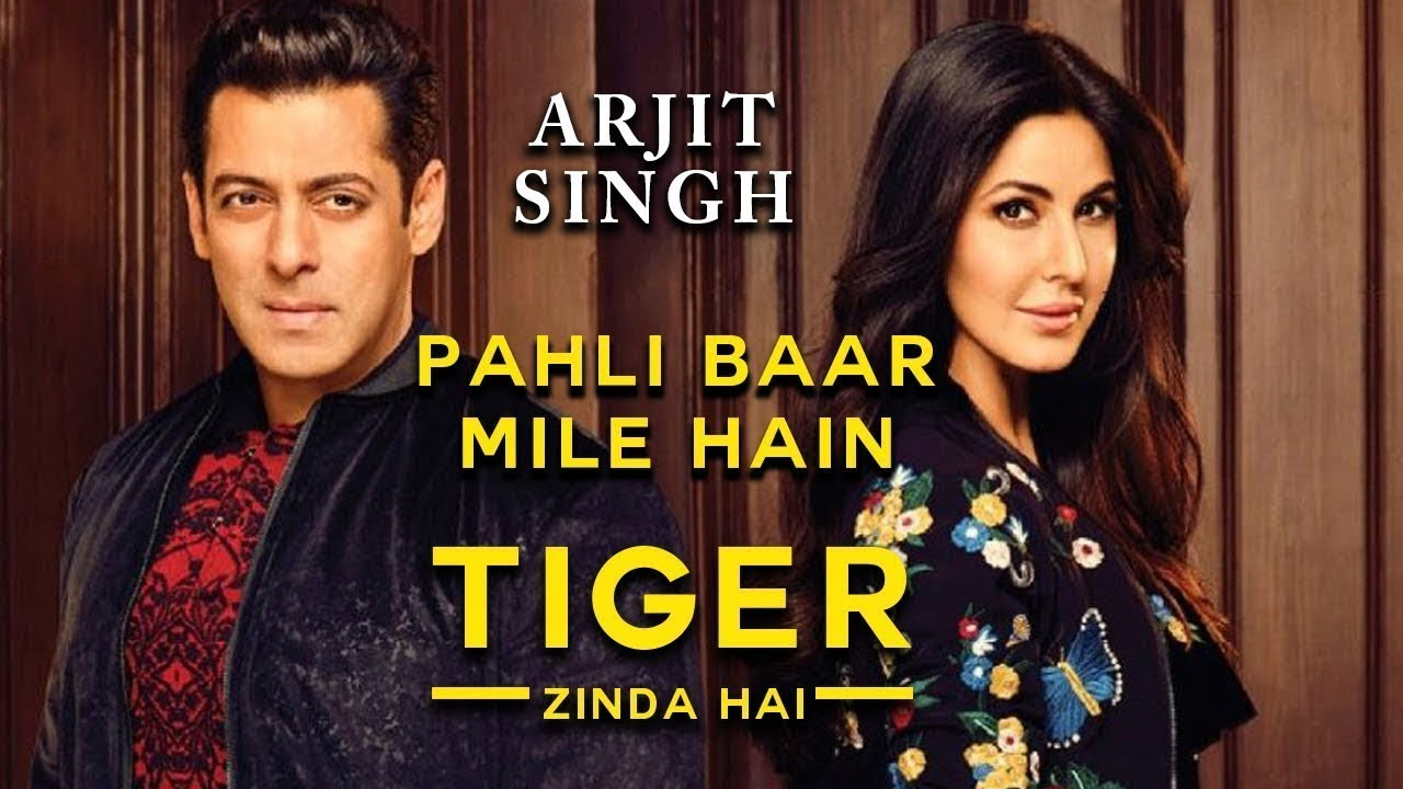 pehli baar mile hain arijit singh tiger zinda hai official music video 2017 salman khan