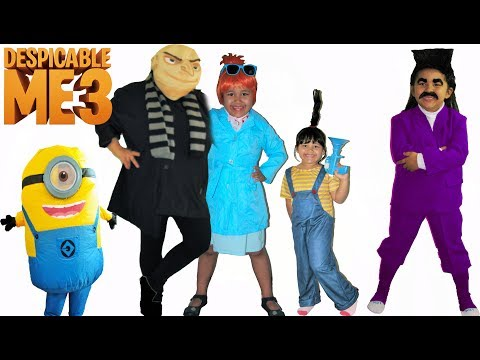Despicable Me 3 Halloween Costumes and Toys