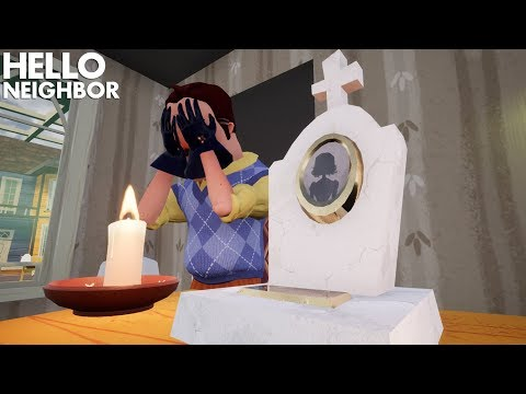 What If The Neighbor's Wife Was Still Alive? | Hello Neighbor (Mods)