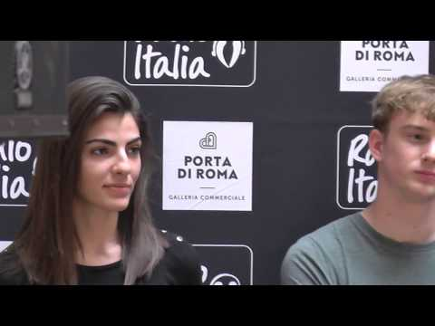 Strong Emotions at first job interview, Elite Models casting Italy, 2018
