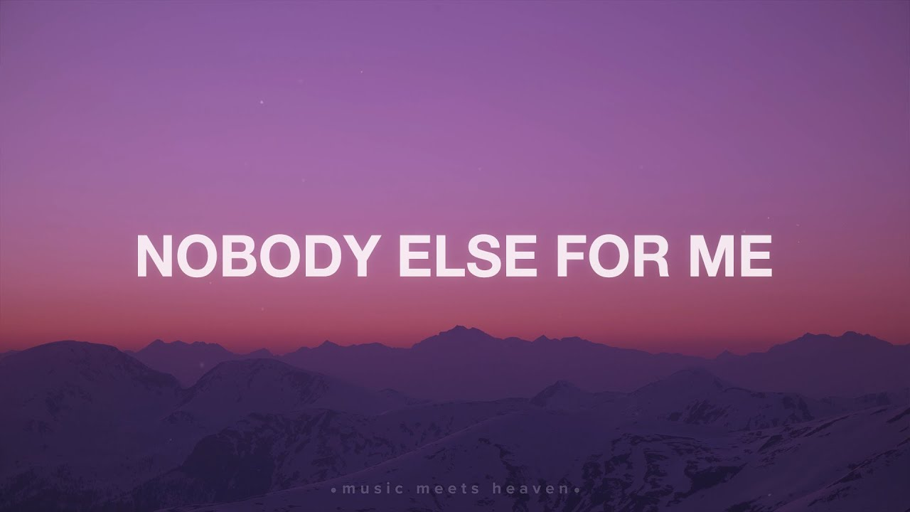 Nobody Else for Me (Lyrics) ~ The War Within