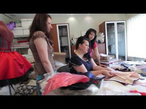 Idilio Bridal - From sketch to catwalk!  How a couture gown is created