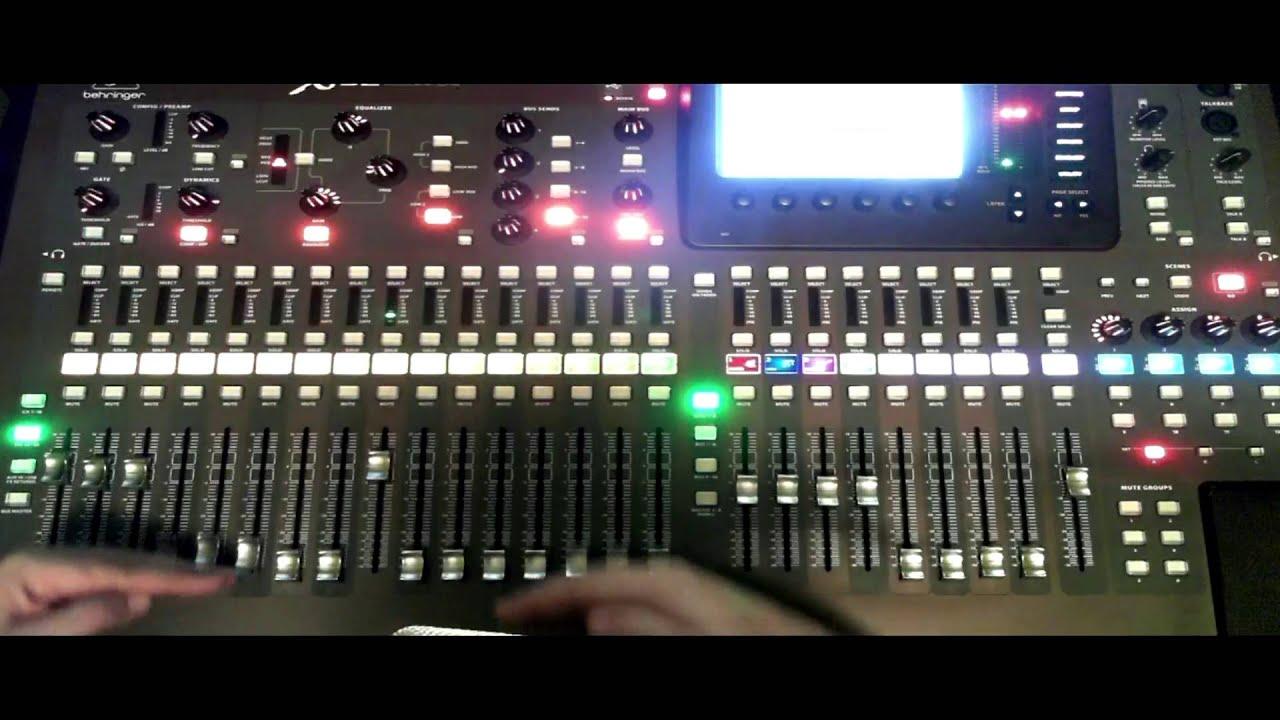 behringer x32 espa ol funciones generales youtube rh youtube com behringer x32 manual español descargar behringer x32 manual español descargar