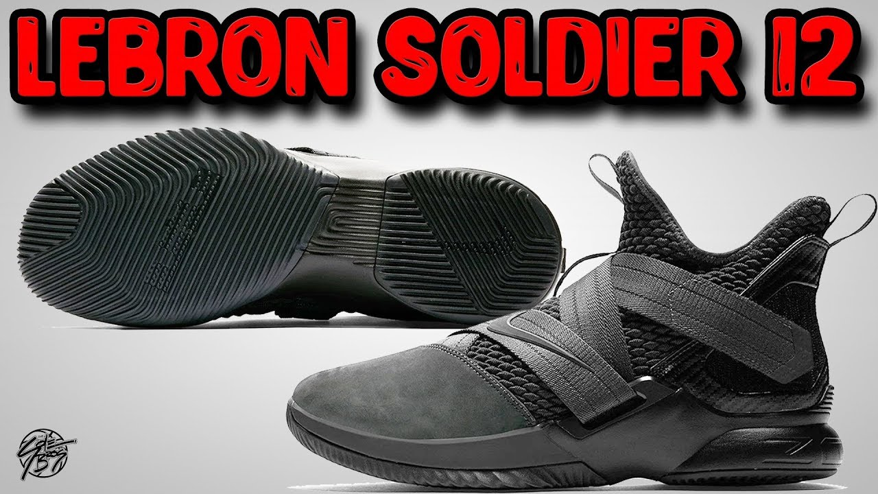 5b75d1125c4e Nike Lebron Soldier 12 Official Pictures Revealed! - YouTube
