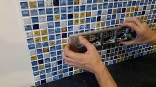 Obustroeno.com: Укладка фартука (экрана) на кухне за 10 мин