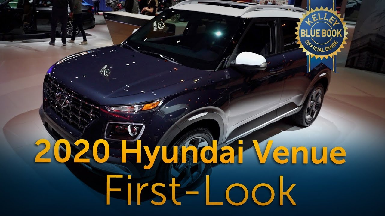 2020 Hyundai Venue First Look Youtube