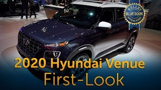 2020 Hyundai Venue - First Look