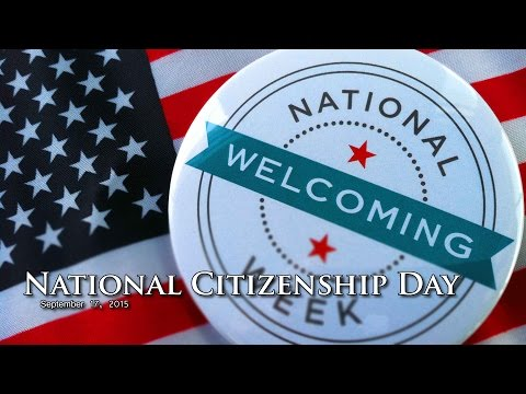 Press Conference - National Citizenship Day