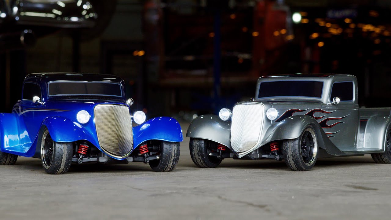 Classic Style Meets Modern Performance | @Traxxas @Factory Five Racing Hot Rods