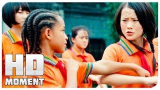 Дре завет Мэй на праздник Ци Си - Каратэ-пацан (2010) - Момент из фильма