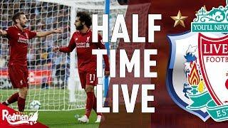 Huddersfield 0-1 Liverpool | Half Time LIVE