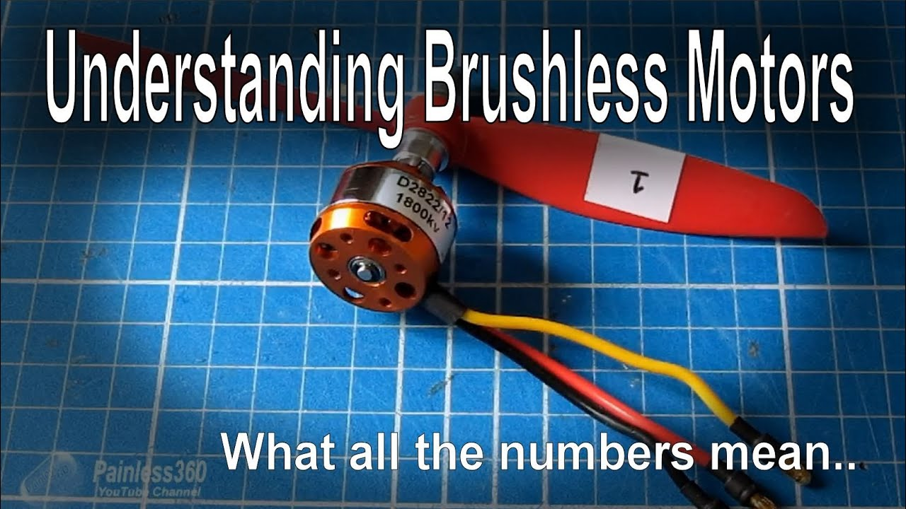 brushless motor numbers explained kv etc youtube. Black Bedroom Furniture Sets. Home Design Ideas