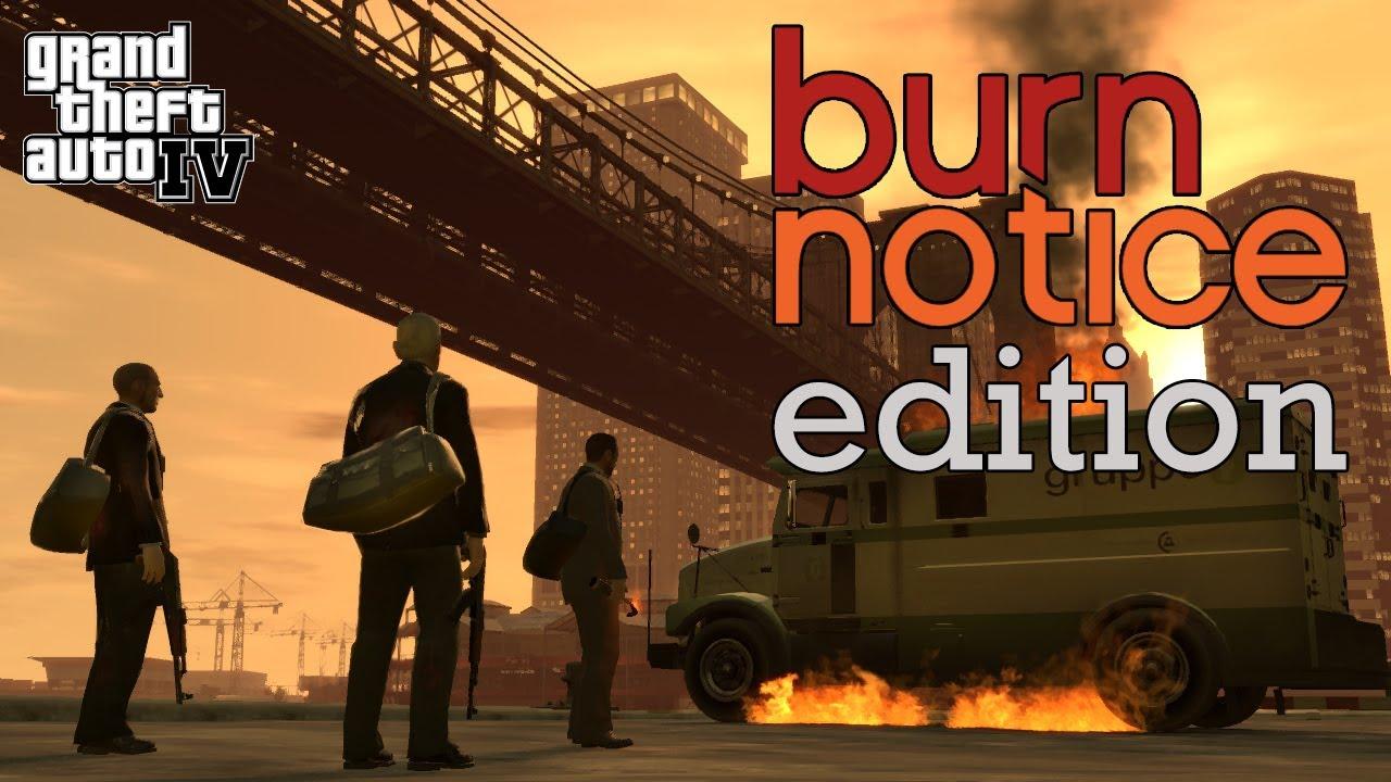 GTA IV: Burn Notice Edition
