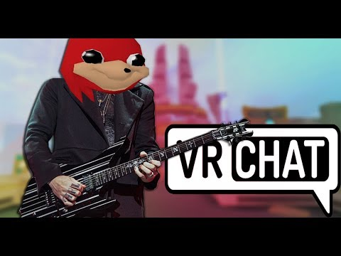 Playing Guitar on VRChat - The Greatest Game Ever Made