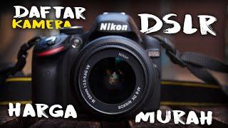 MURAH!! 5 Rekomendasi Kamera DSLR untuk Pemula LOW BUDGET (2021)