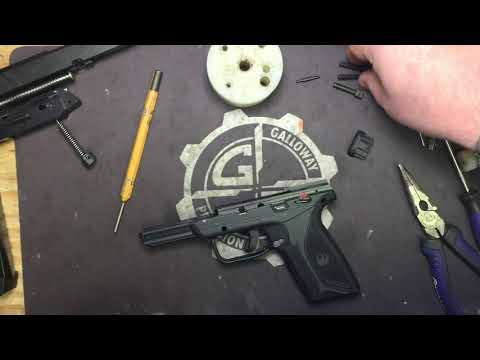Ruger Security-9 Complete Disassembly and Reassembly.