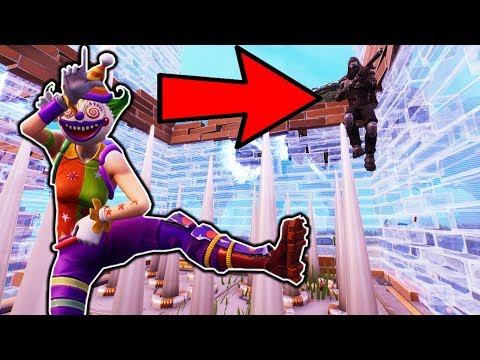 *EVIL CLOWN* SPIKE TRAP WIN IN FORTNITE BATTLE ROYALE!!!