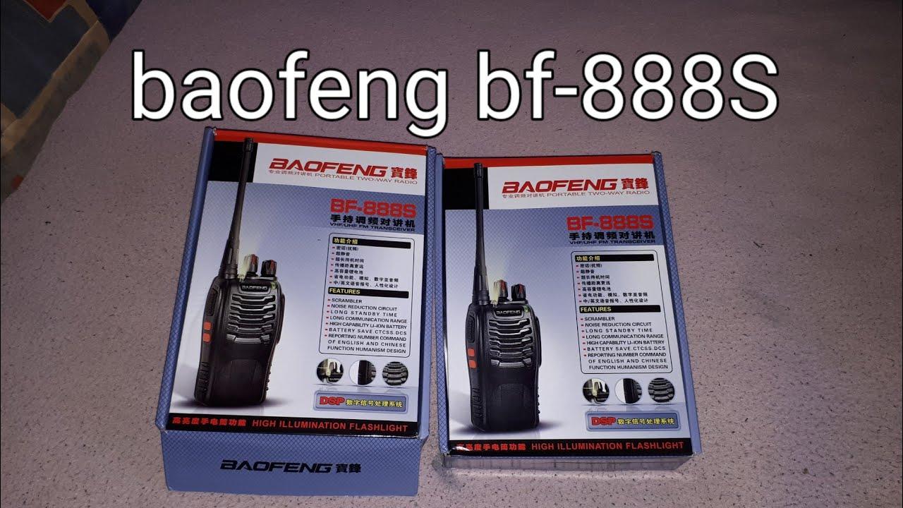 Baofeng BF-888S Funkgerät mit headset optimal für eine Radtour