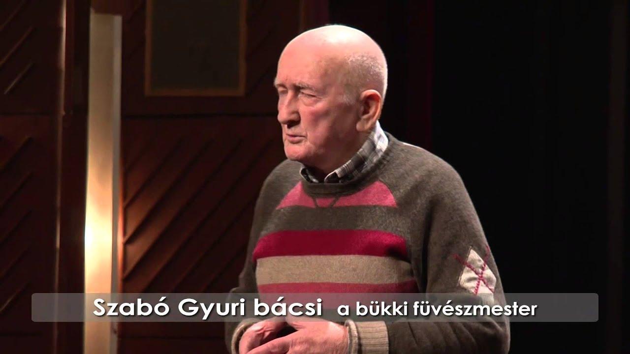 Gyógynövényekkel az energikus létért - Szabó György a bükki fűvészmester előadása