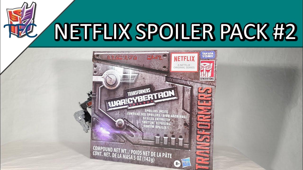 TF Collector Netflix WFC Spoiler Box 2 Nemesis Prime Review!
