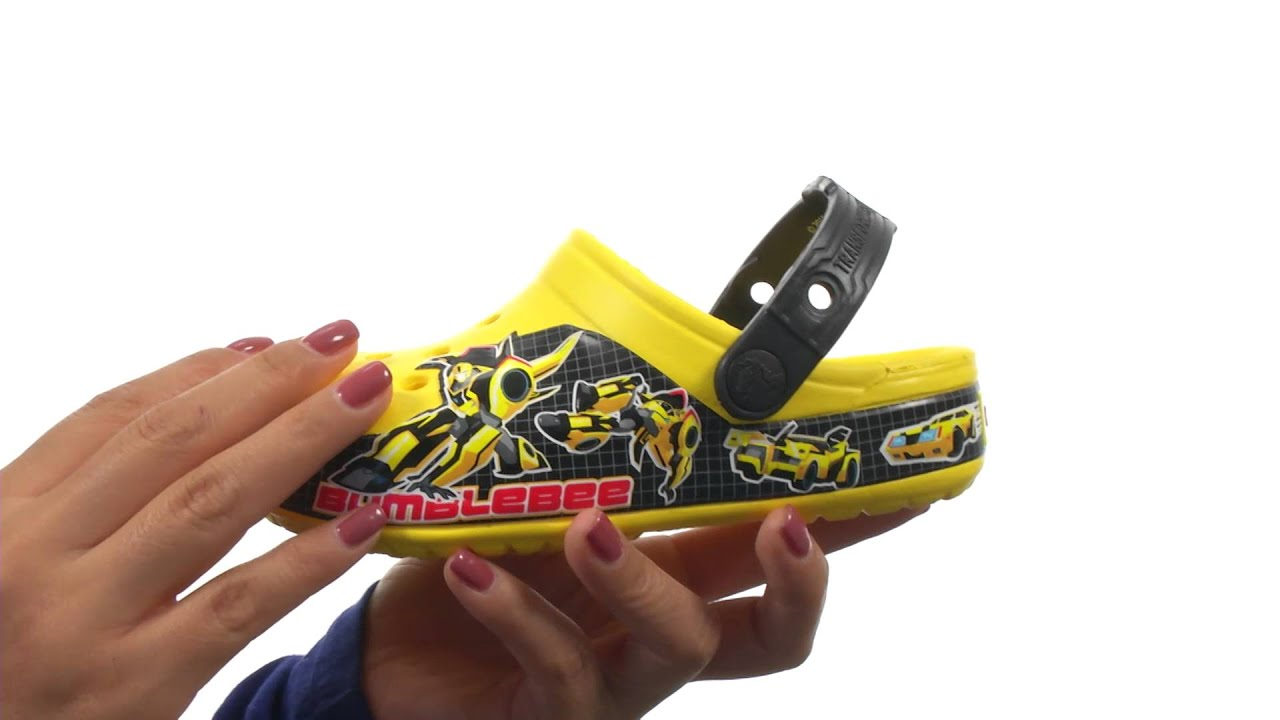 9489506f5bc4 Crocs Kids CB Transformers Bumblebee Clog (Toddler Little Kid) SKU 8557768