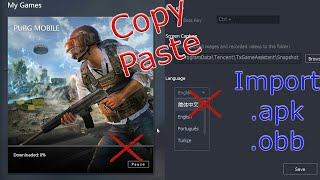 Gambar cover How to import .apk and .obb file in Tencent Gaming Buddy without changing the language to Chinese