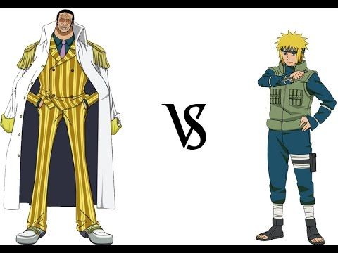 Minato VS Kizaru!! Who is Stronger?