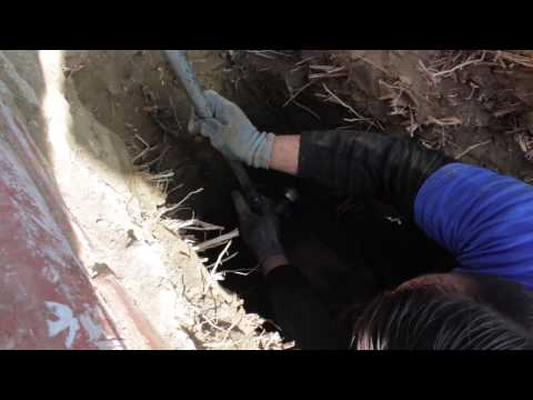 Learn Plumbing - How to install a Clean Out on a sewer main