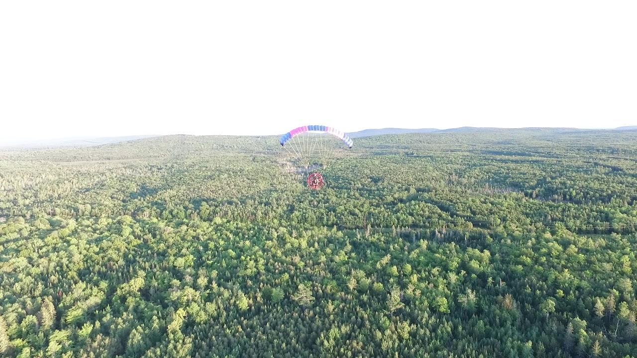 Drone video of my PPC flight - No Audio
