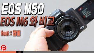 캐논 미러리스카메라 EOS M50 리뷰 구입기 EOS M6 사용자로서 EOS M50 을 구입한 이유