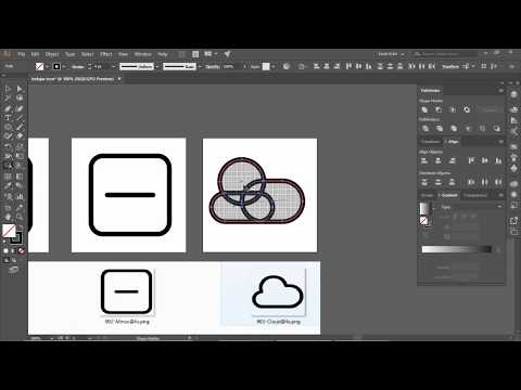 Tutorial Adobe Illustrator Pemula | Cara Membuat Icon # 2 thumbnail