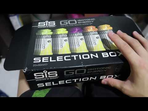 TRYING OUT SIS ENERGY GELS
