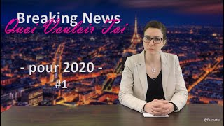 #1 Breaking News QVT - pour 2020