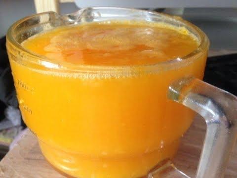 Non-electric (off-grid) orange juicing